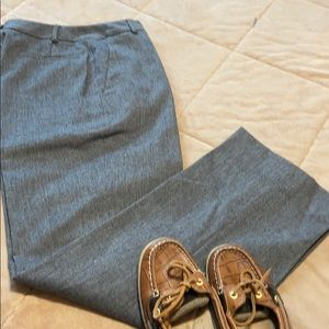Brooks Brothers 346 Stretch Gray Wool Trousers